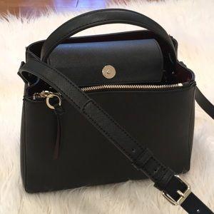 🌹Zara black handbag, used 2 times!